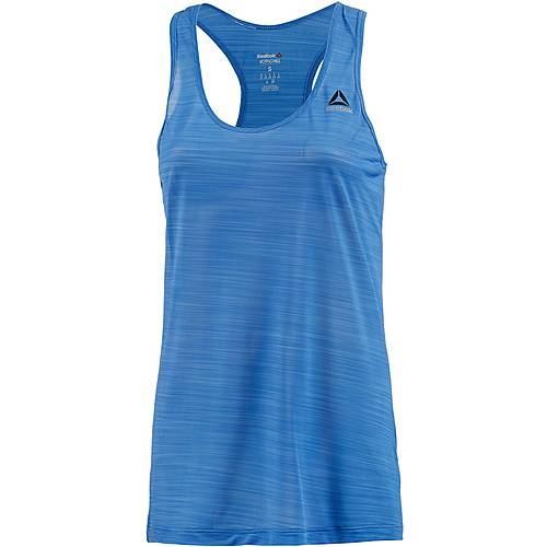 Reebok Workout Ready Activchill Tanktop Damen ECHO BLUE F10-R