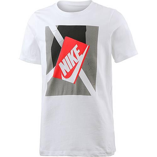 Nike T-Shirt Kinder weiß
