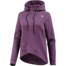 Reebok Crossfit Hoodie Damen washed plum mel