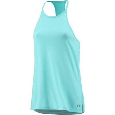 Under Armour Threadborne Fashion Funktionstank Damen BLUE INFINITY/STEEL