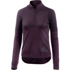 adidas Climaheat Primeknit Laufshirt Damen red night