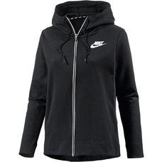 Nike Advanced Sweatjacke Damen BLACK/WHITE
