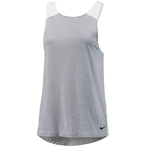 Nike Breathe Loose Funktionstank Damen WOLF GREY/HTR/WHITE/BLACK