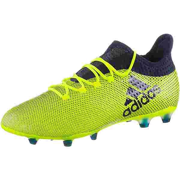 adidas X 17.2 FG Fußballschuhe Herren solar yellow