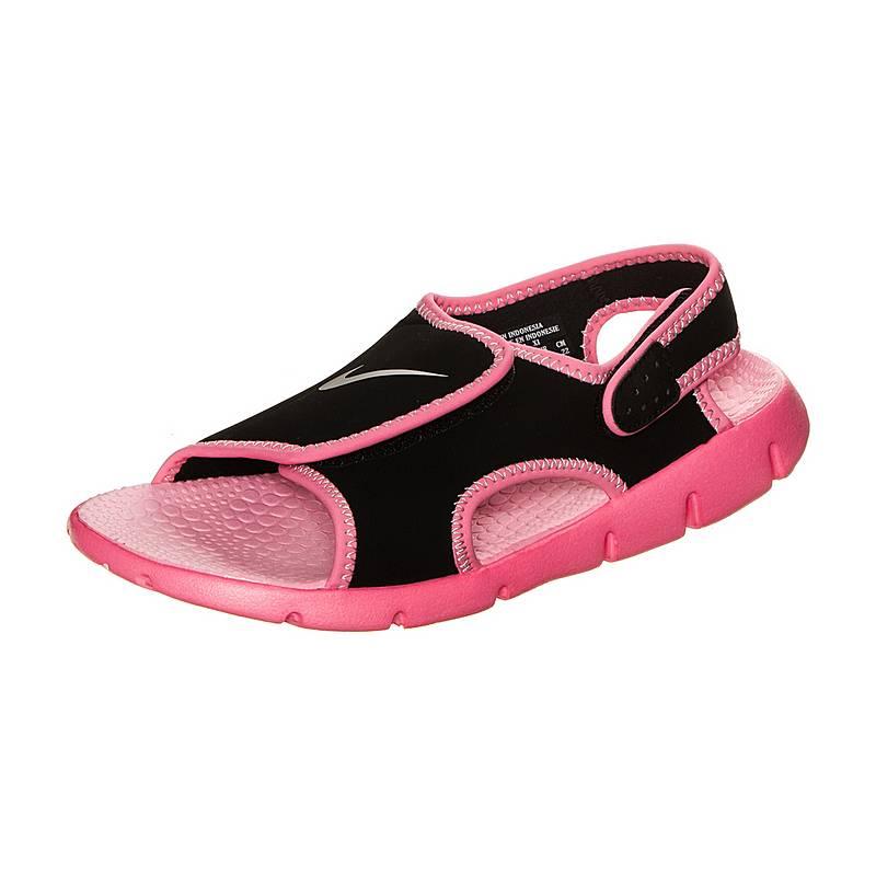 9ec9e2bcd2af Nike Sunray Adjustable 4 Sandalen Mädchen schwarz   pink im Online ...