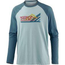Marmot Owens Printshirt Herren blau