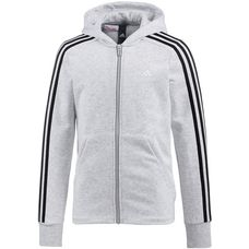 adidas Sweatjacke Kinder light grey heather