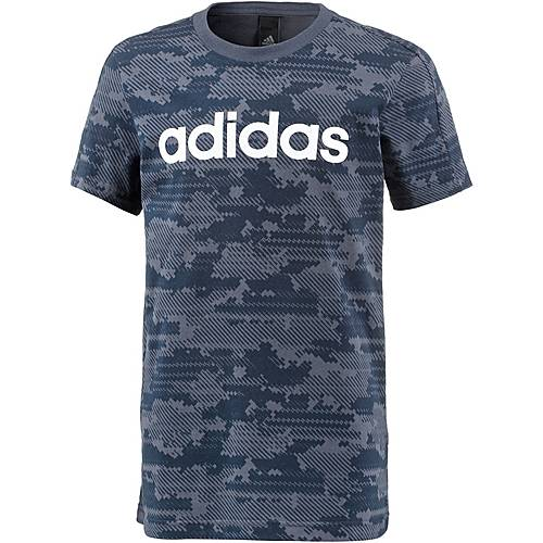 adidas T-Shirt Kinder trace blue