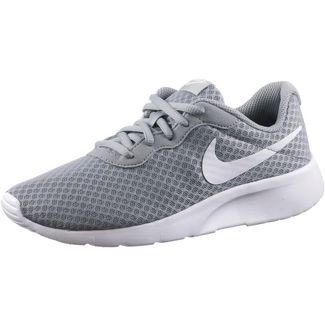 Nike Tanjun Sneaker Kinder wolf grey-white-white