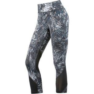 Nike Power Epic Crop Lauftights Damen grau