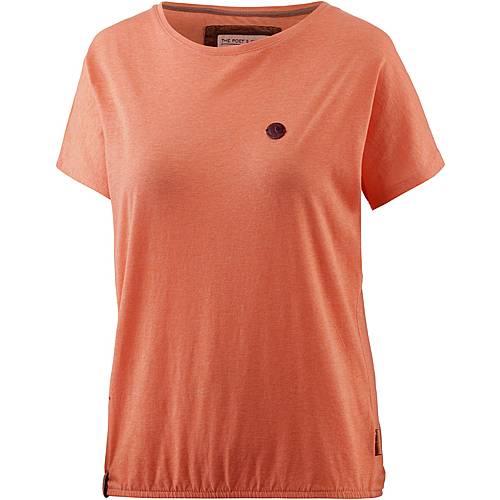 Naketano Acid Girl VI T-Shirt Damen orange washed