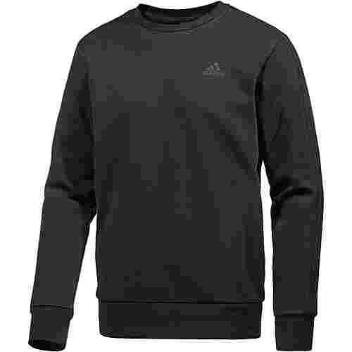 adidas Essential 3S Sweatshirt Herren black