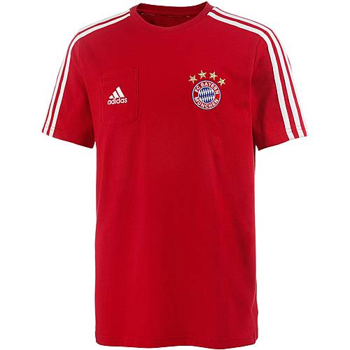 adidas FC Bayern T-Shirt Kinder FCB TRUE RED