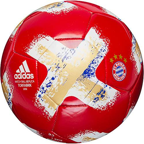 adidas FC Bayern Miniball FCB TRUE RED