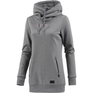 Volcom WALK ON BY HIGH Hoodie Damen CHARCOAL