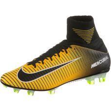 Nike MERCURIAL VELOCE III DF FG Fußballschuhe Herren LASER ORANGE/BLACK-WHITE-VOLT
