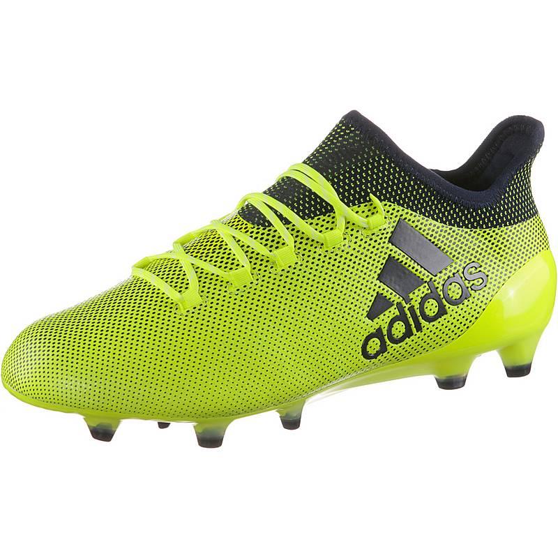 new concept 8c563 0d04f adidas X 17.1 FG Fußballschuhe Herren solar yellow