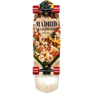 "Madrid Orchid Mini Picket 28.5"" Skateboard-Komplettset braun"