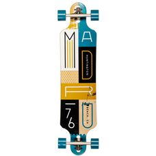 "Madrid Blocks Katar 39.5"" Longboard Bunt"