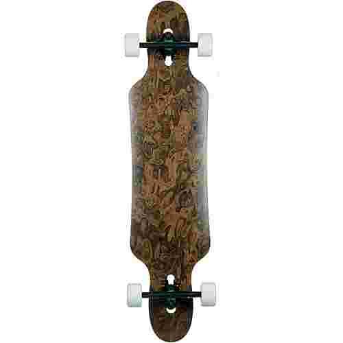 Urskog Vidja 40,2 walnut burl Longboard-Komplettset braun