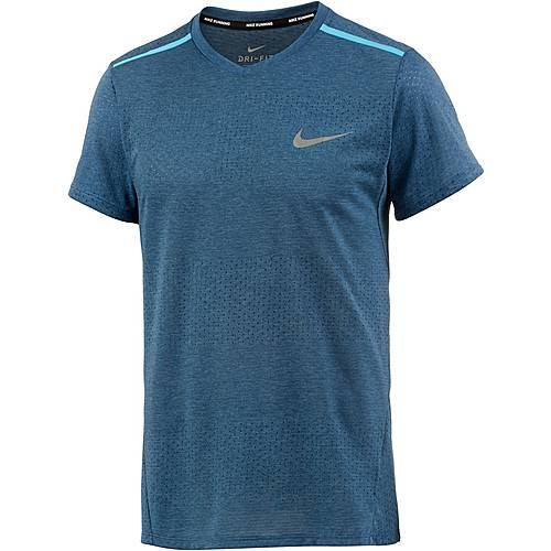 Nike Breathe Tailwind Laufshirt Herren blau