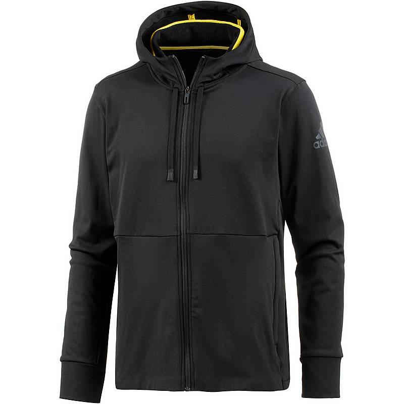 Adidas Workout Clima Warm Funktionsjacke Herren black im Online Shop ... d7ca087f00