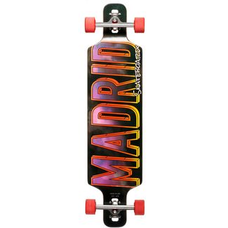 "Madrid Sky Fighter 41"" Drop-Thru Longboard schwarz"