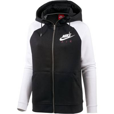 nike sweatjacke damen schwarz wei im online shop von. Black Bedroom Furniture Sets. Home Design Ideas