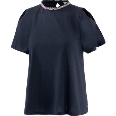 TOM TAILOR T-Shirt Damen real navy blue