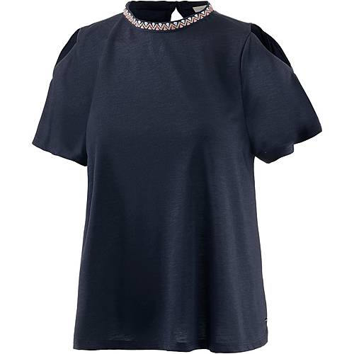 TOM TAILOR T-Shirt Damen real navy blue