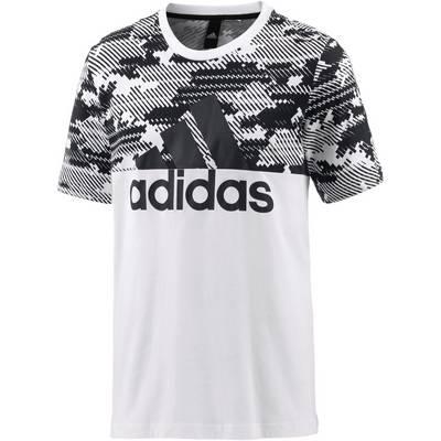 adidas Essential AOP T-Shirt Herren white