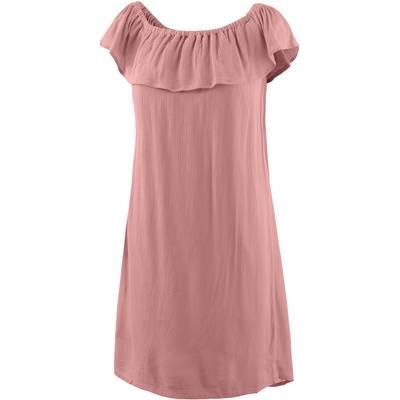 Ichi Kurzarmkleid Damen rosa