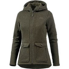 The North Face Crescent Strickfleece Damen NEW TAUPE GREEN HEATHER