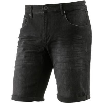 Shine Original Jeansshorts Herren black denim