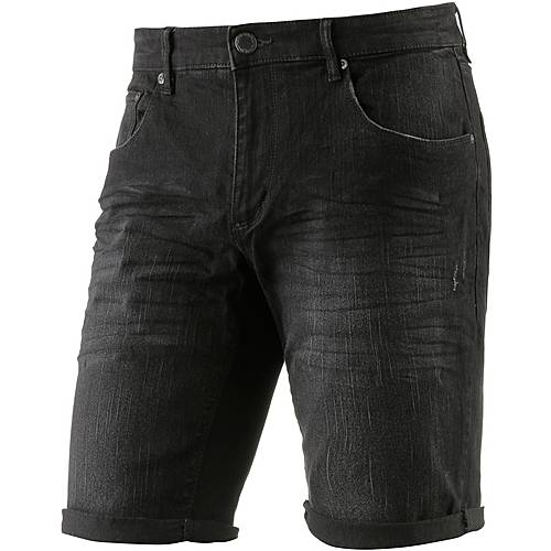 Shine Original Jeansshorts Herren black denim