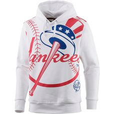 Majestic Athletic New York Yankees Hoodie Herren weiß/rot