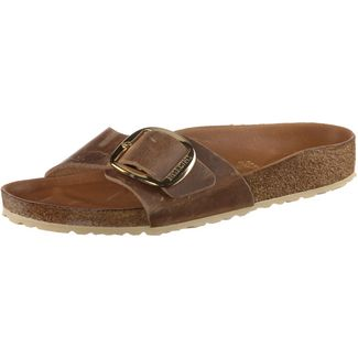 Birkenstock Madrid Big Buckle Sandalen Damen cognac