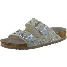 Birkenstock Arizona HEX Sandalen Damen spotted metallic silver