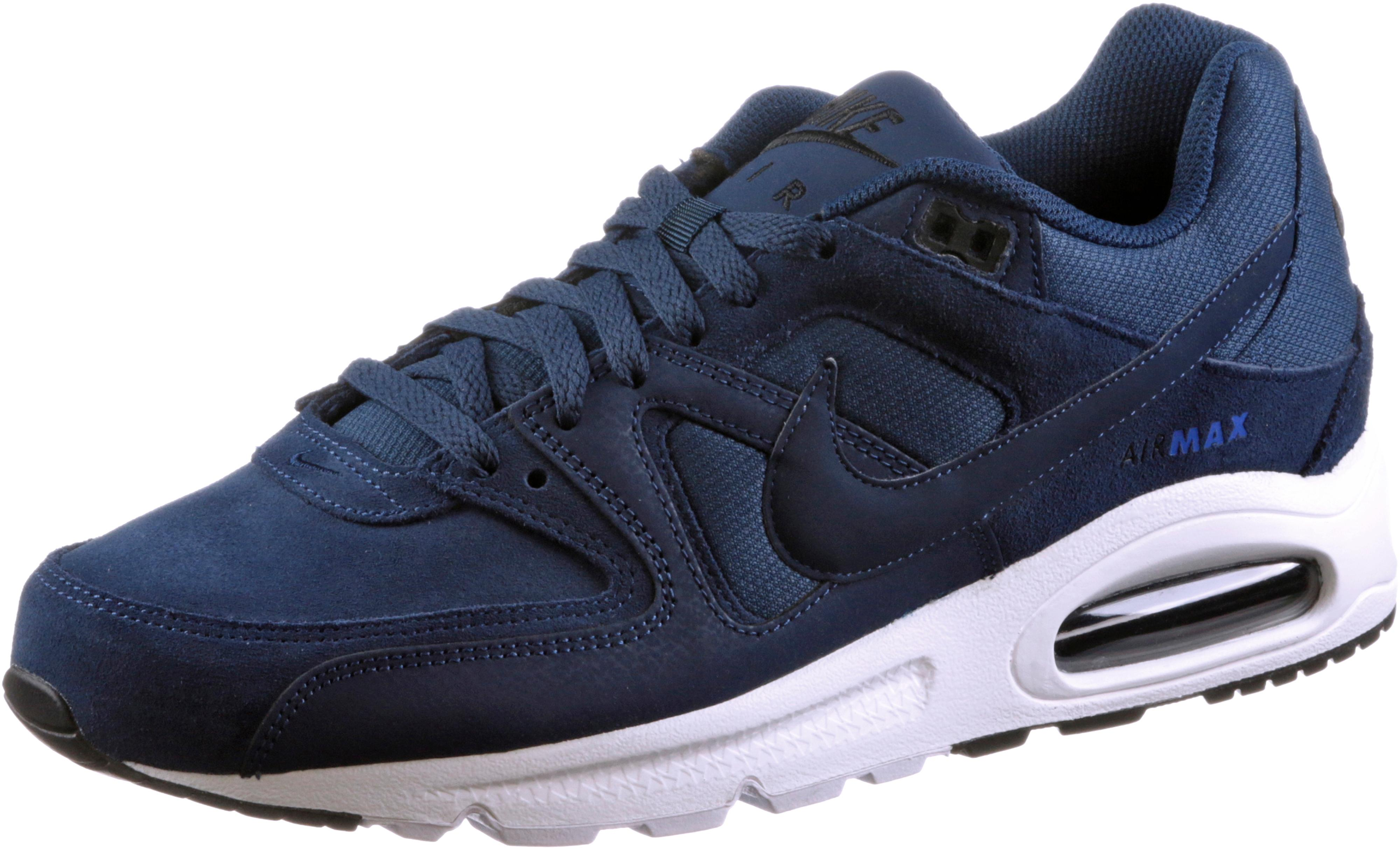 nike schuhe / sneaker air max command premium in grau