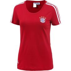 adidas FC Bayern T-Shirt Damen FCB TRUE RED