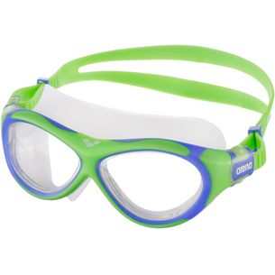 Arena Oblo Schwimmbrille Kinder grün/blau