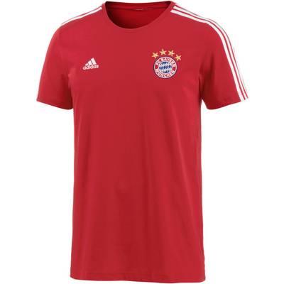 adidas FC Bayern T-Shirt Herren FCB TRUE RED