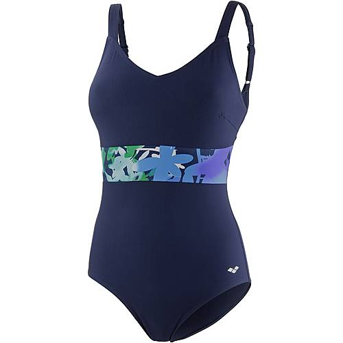 Arena Doris Bodylift Badeanzug Damen blau