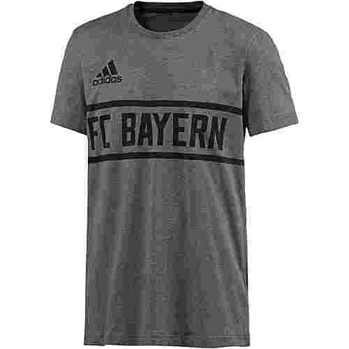 adidas FC Bayern T-Shirt Herren dark grey heather