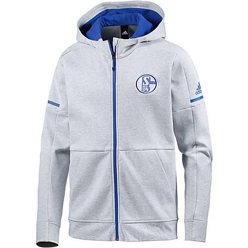 adidas Schalke 04 Hoodie Herren light grey heather