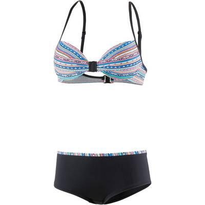 ESPRIT Naylor Beach Bügelbikini Damen schwarz/bunt