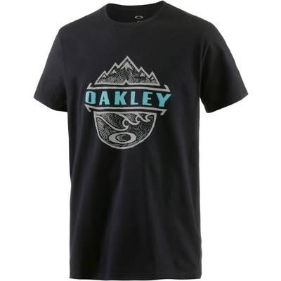 Oakley Bicoastal Too T-Shirt Herren schwarz
