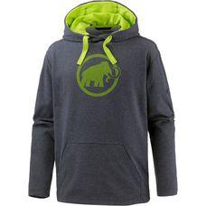 Mammut Logo Hoodie Herren graphite melange-sprout