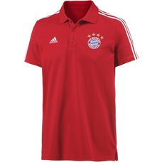adidas FC Bayern Poloshirt Herren FCB TRUE RED
