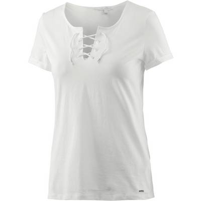 TOM TAILOR T-Shirt Damen offwhite